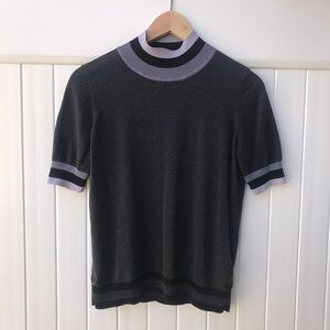 COS mock neck knitted top